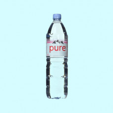 Evian Pure Natural Mineral Water